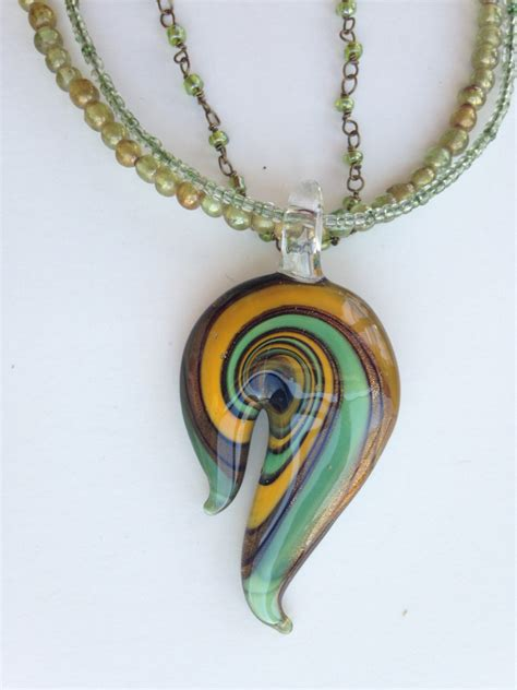 glass pendants for jewelry glass necklace pendant blown glass pendants glass necklace