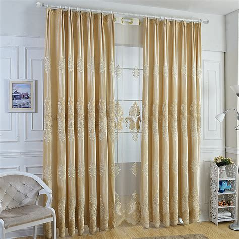 cream bedroom curtains cream italy cashmere laser embroidered curtains living