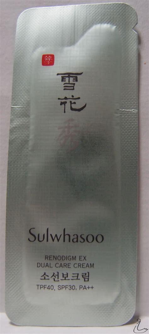 Sulwhasoo Renodigm Dual Care Sle the swanple review sulwhasoo renodigm ex dual care