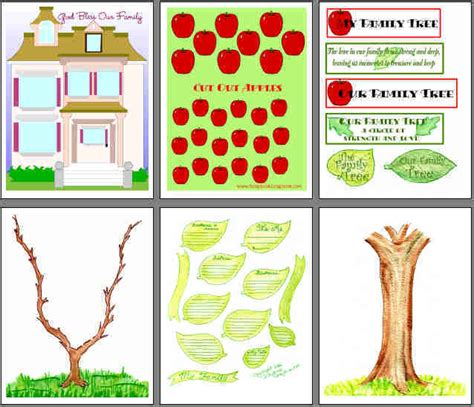 family tree printables