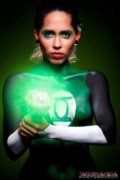 green lantern cosplay body paint lanterns 6 jpg 600