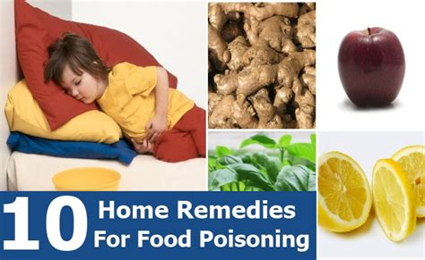top 10 effective home remedies for food poisoning