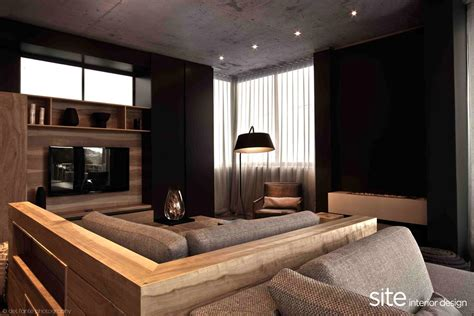 modern houses interior design dramatic modern house by site interior design decoholic