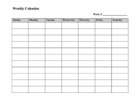 microsoft office weekly calendar template best 25 weekly calendar template ideas on