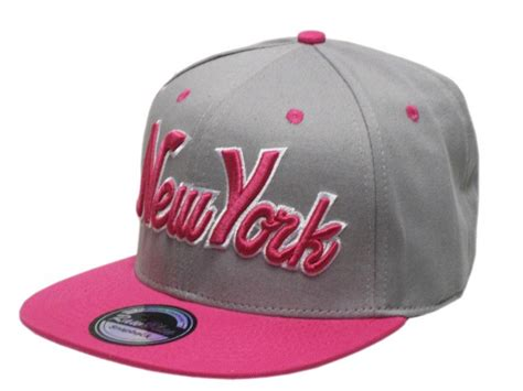 blue new york ny snapback fitted baseball hat cap in