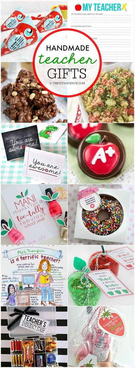 Appreciation Handmade Gift Ideas - gift ideas appreciation week wouldn t gifts