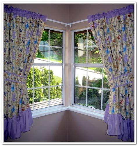 corner curtains corner window curtains styles of decorating ideas homesfeed