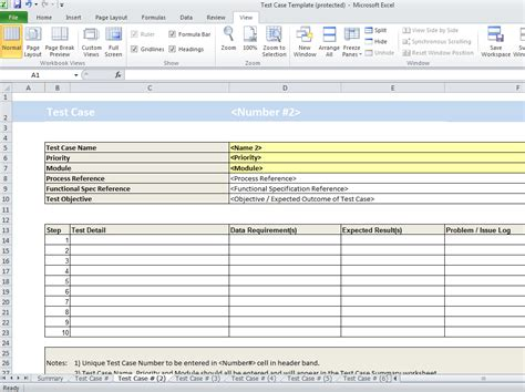 Excel Test Template by Test Plan Template Excel Madrat Co
