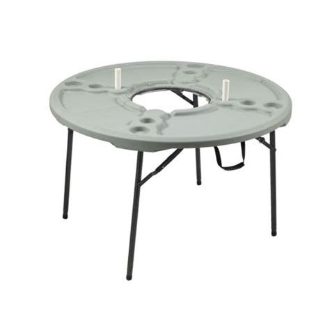 folding table and chairs cing academy sports outdoors 4 ft folding cookout table