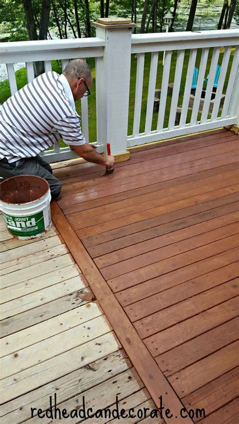 thompson water seal stain colors thompson s waterseal deck makeover can decorate