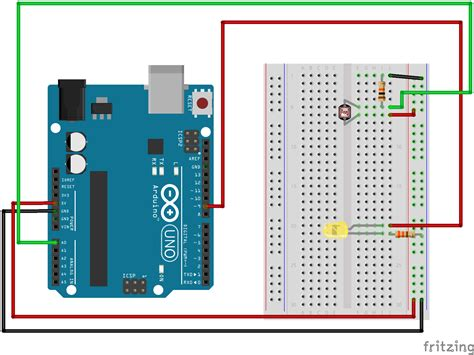 photoresistor controlling led sik experiment guide for arduino v3 2 learn sparkfun