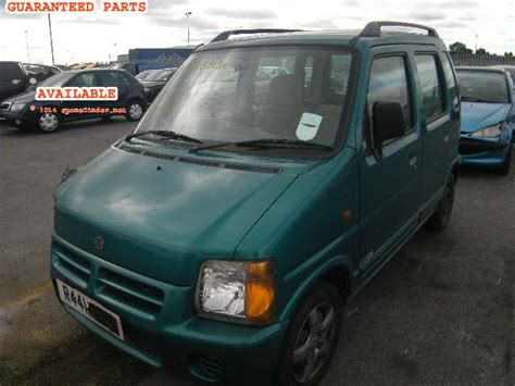 Sparepart Suzuki Wagon R suzuki wagon r breakers wagon r gl dismantlers