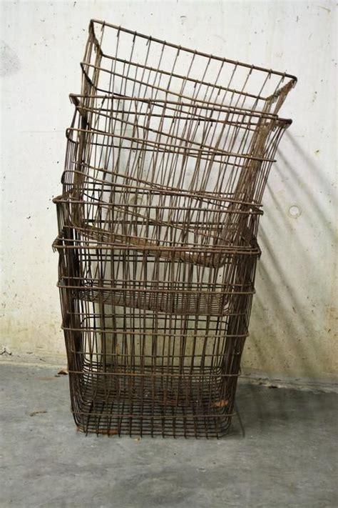 17 best ideas about vintage wire baskets on