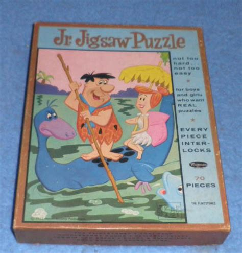puzzle for sale vintage flintstones puzzle b4409 for sale antiques