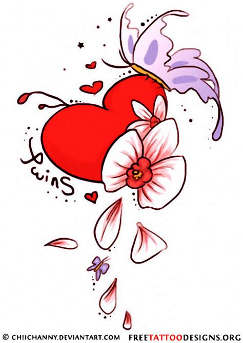 hearts and butterfly tattoo designs 55 tattoos and sacred designs