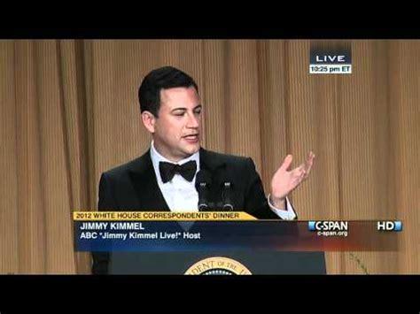 c span white house correspondents dinner c span jimmy kimmel at the 2012 white house correspondents dinner iwbc ru