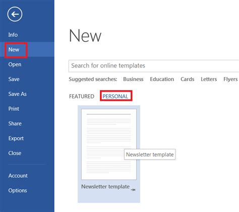 How To Easily Create A Newsletter Template In Microsoft Word Learning Tree Blog Create Newsletter Template In Word
