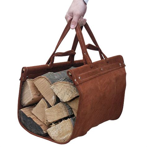 Fireplace Log Tote by Firewood Carrier At Toolsforfireplaces