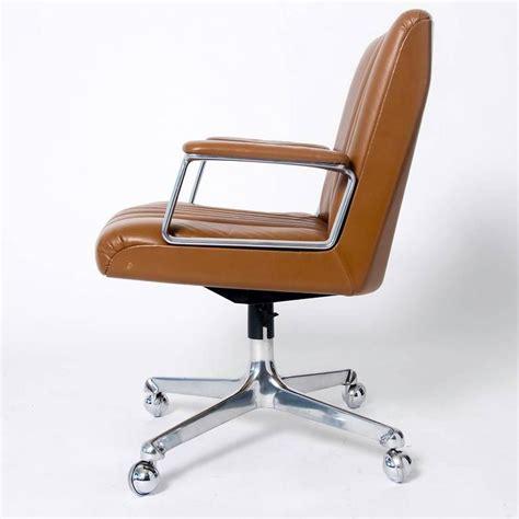 swiveling chair swiveling office chair on casters by osvaldo borsani for