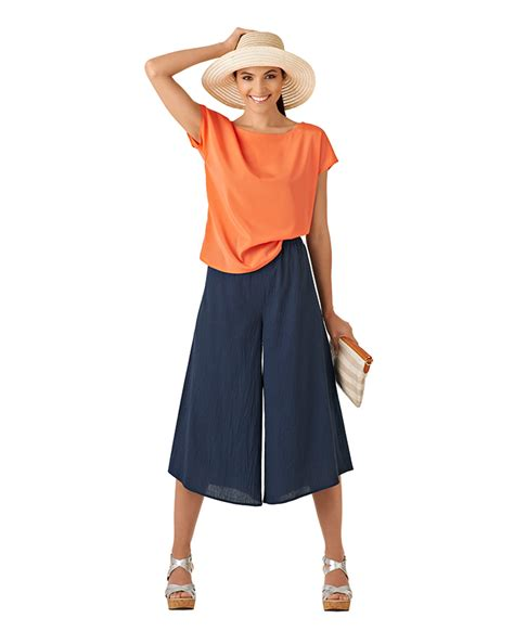 Sr Casual Culottes With Waist Tie Style File Input The Pattern Pages