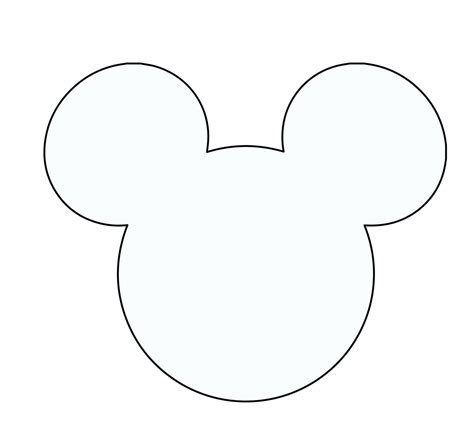 mickey mouse face template for cake mickey mouse template for cake embellishment
