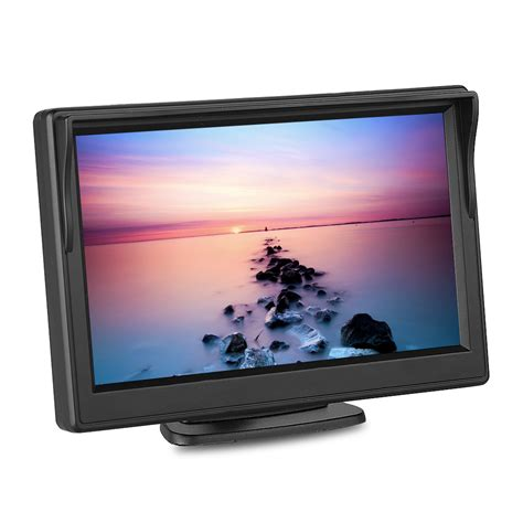 Monitor Lcd Vision 5 quot tft lcd monitor wireless car backup rear view system vision ebay