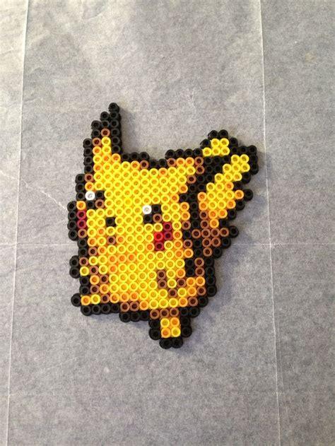 perler bead designer pikachu perler bead design by ratedeforeveryone on