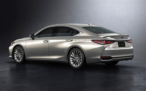 Lexus 2019 Models by 2019 Lexus Es Revealed Hybrid Es 300h Confirmed For