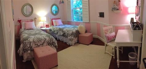 pink and grey girls bedroom pink and gray girls room contemporary kids other metro by simply staged naples