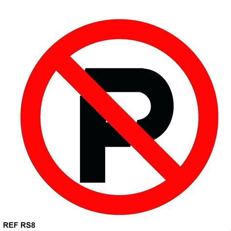 No Parking Template No Parking Template Word
