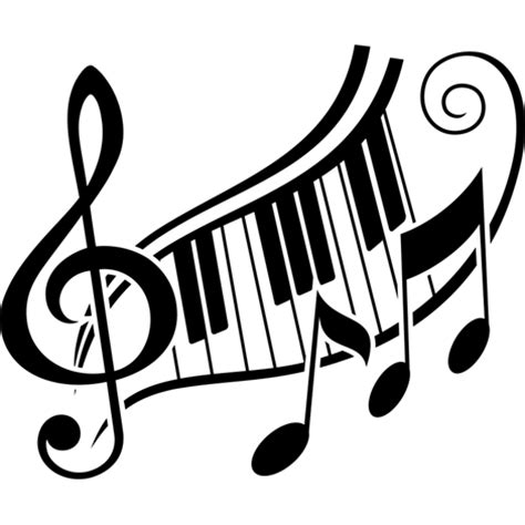 music tattoo png vinilo decorativo m 250 sica clave de sol y teclas de piano
