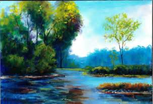Landscape Pictures To Paint In Oils Plein Air Landscape Painting Painting By Andrew Semberecki