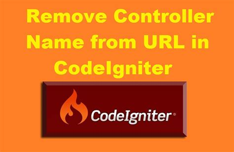 codeigniter tutorial in tamil how to remove controller name from url in codeigniter