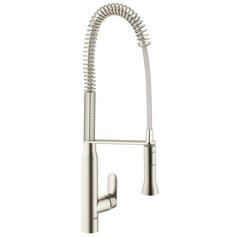 grohe k7 kitchen faucet grohe k7 semi pro single handle pull sprayer kitchen