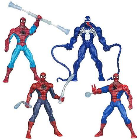 spider web battlers figures wave 2 hasbro