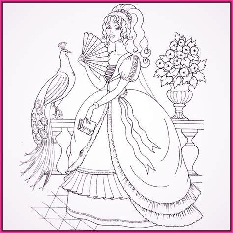imagenes a blanco y negro de princesas imagenes de barbie escuela de princesas para colorear
