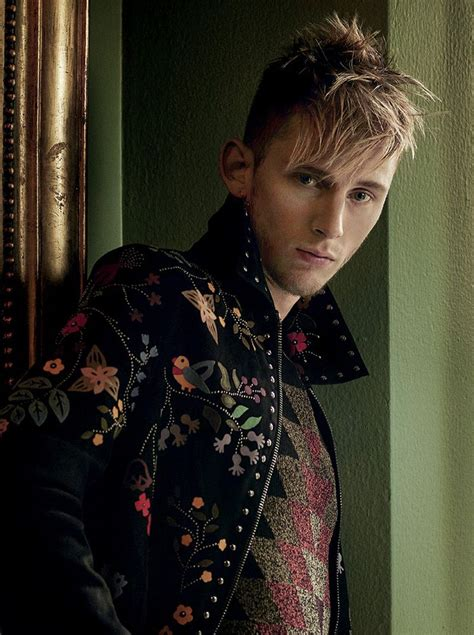 machine gun kelly l uomo vogue