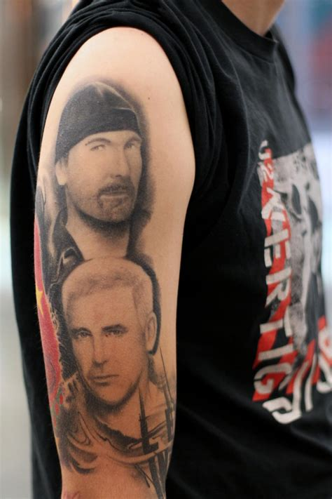 u2 tattoo coast connect u2 fans display tattoos for unf