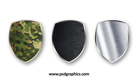 shield psd template blank shields psd templates psdgraphics