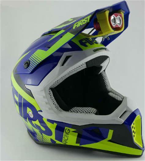 eclairage led moto enduro le leds phare pour casque moto enduro sun klorophyl ligh