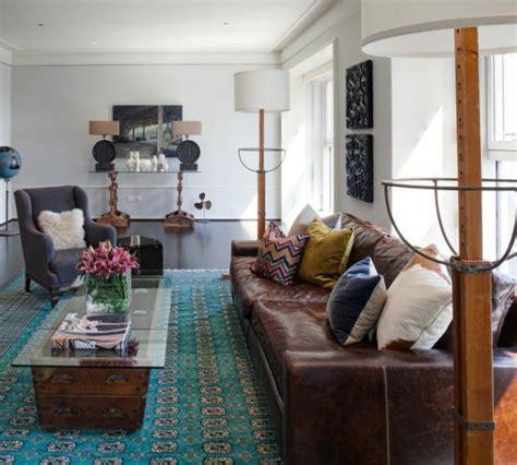 helles sofa wohnzimmer einrichten modernes designer sofa aus leder