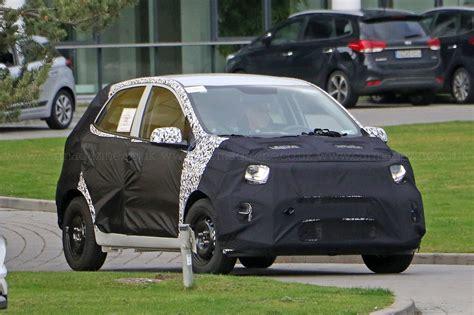 Kia Picanto New New 2017 Kia Picanto Goes Undercover By Car Magazine