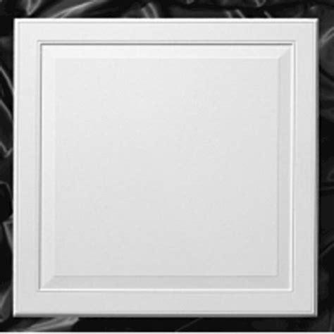 Raised Panel Ceiling Tiles by Armstrong Ledges 24 Quot X 24 Quot Single Raised Panel Flush