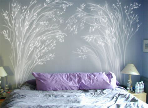 Painted Headboard On Wall Ideas by 5 Diy Headboard Ideas That Aren T Technically Supposed To