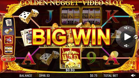 golden nugget  launches  branded video slot game