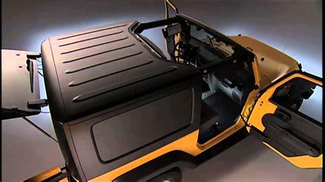 jeep hardtop removal 2015 jeep wrangler freedom top modular hard top removal