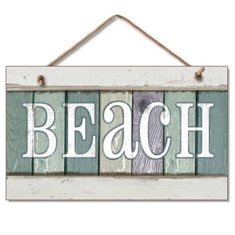 beach signs home decor buy wooden beach party sign 10 inch nautical accessories