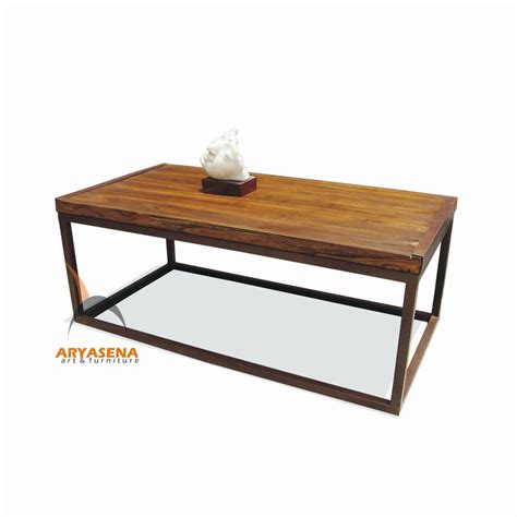 coffee table with iron frame mr tb 01