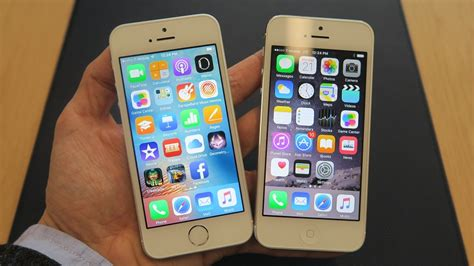 iphone 5s vs iphone se vs iphone 5s design specs and features