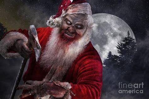 imagenes de santa claus zombie serial killer santa zombie photograph by dieter spears